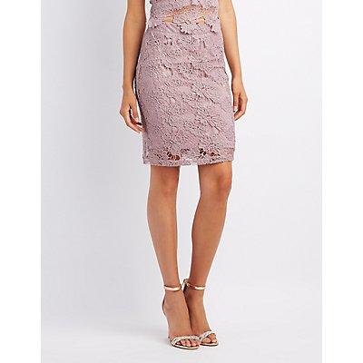Crochet Bodycon Skirt