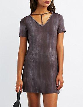 T-Strap T-Shirt Dress