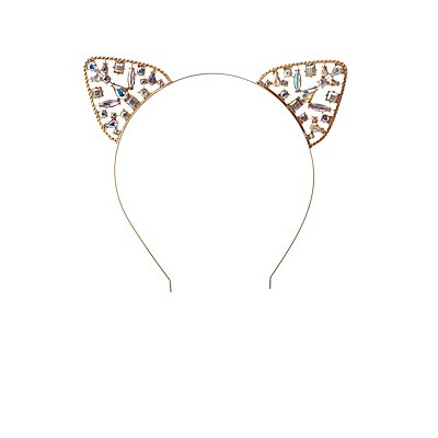 Crystal Cat Ear Headband