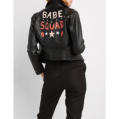 Babe Squad Moto Jacket