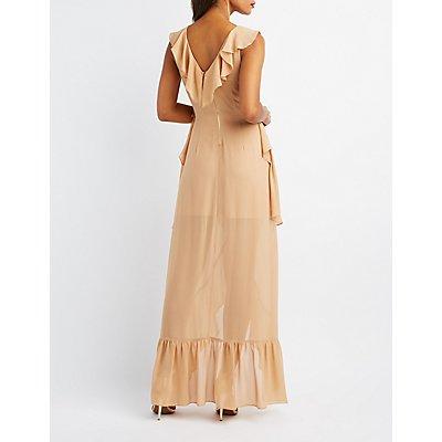 Tiered Ruffle Maxi Dress