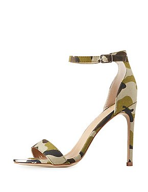 Camo Two-Piece Sandals