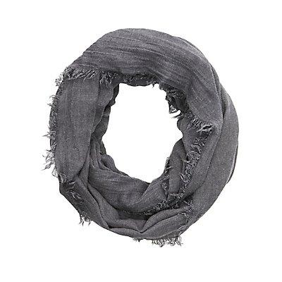 Lightweight Woven Infinity Scarf