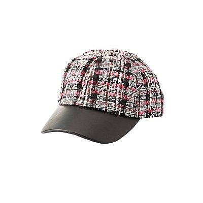 Tweed Baseball Hat