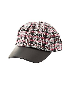 Tweed Baseball Hat