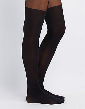 Mock Over-The-Knee Tights