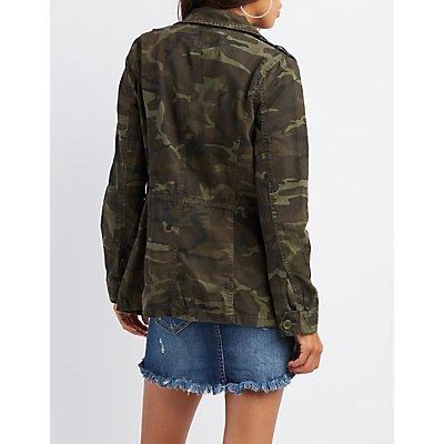 Camo Anorak Jacket