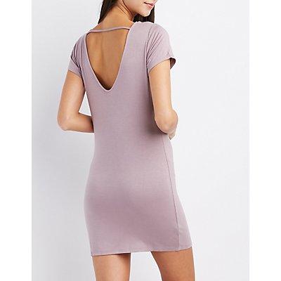 Strappy T-Shirt Dress