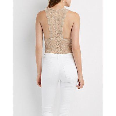 Lace V-Neck Bodysuit