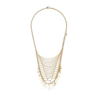 Embellished Bib Necklace