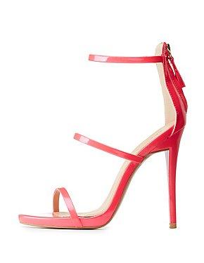Qupid Three-Piece Dress Sandals