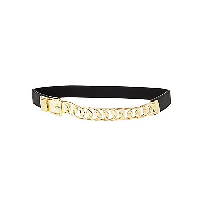 Plus Size Chainlink Waist Belt