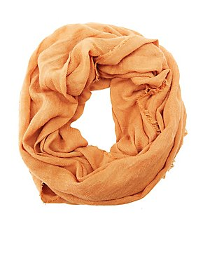 Lightweight Woven Infinity Scarf