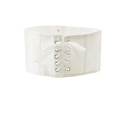 Denim Corset Stretch Waist Belt