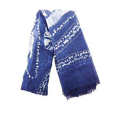 Printed Woven Blanket Scarf
