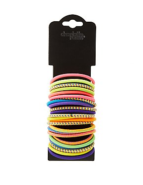 Multicolor Ponytail Holders
