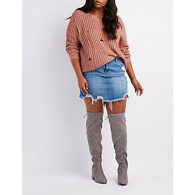 Wide Width Over-The-Knee Boots