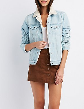 Refuge Fleece Lined Denim Jacket