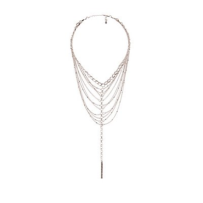 Tiered Chainlink Necklace