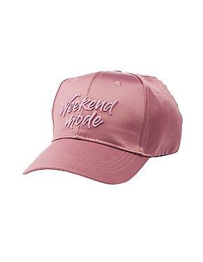 Weekend Mode Basebal Hat