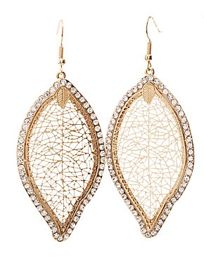 Embellished Statement Earrings