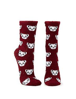 Cat Cozy Socks