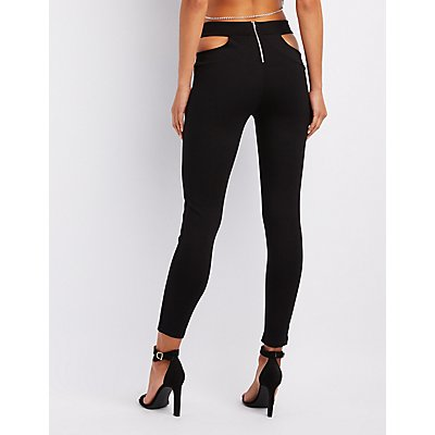 Caged Cut-Out Leggings