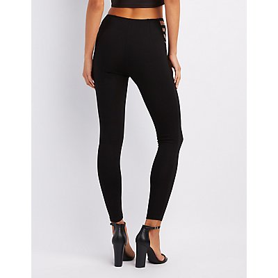 Caged High-Rise Leggings
