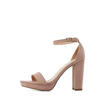Platform Ankle Strap Dress Sandals
