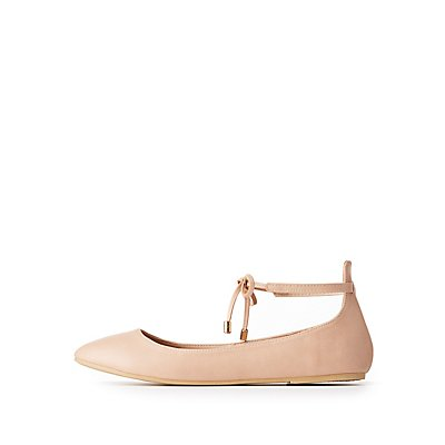 Ankle Strap Ballet Flats