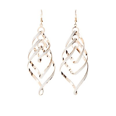 Embellished Statement Earrings