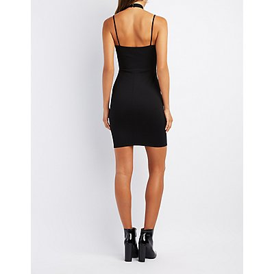 Strappy Bodycon Dress