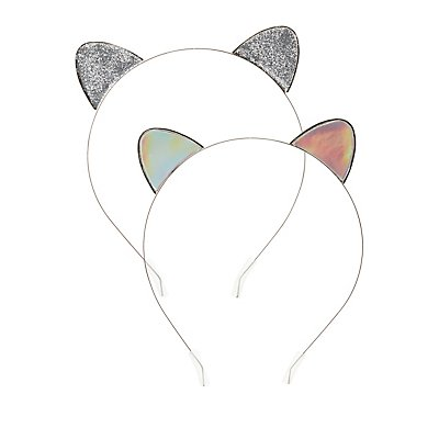 Cat Ear Head Bands - 2 Pack
