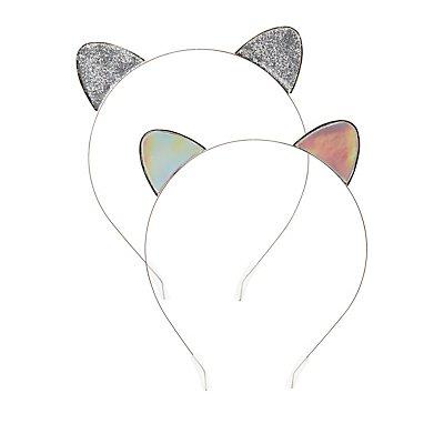 Cat Ear Head Bands - 2 Pack