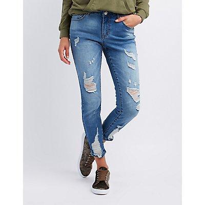 Refuge Destroyed Skinny Jeans
