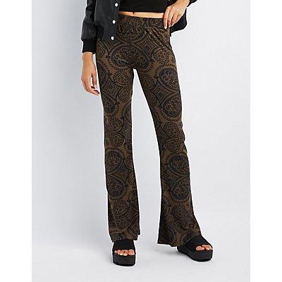 Paisley Flare Pants