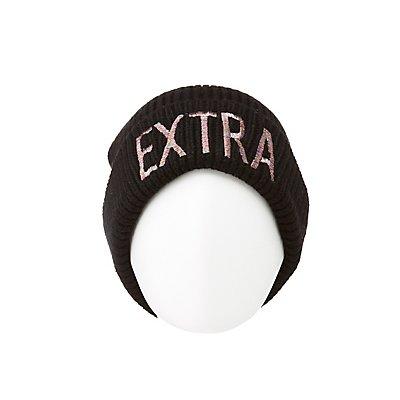 Extra Ribbed Knit Beanie