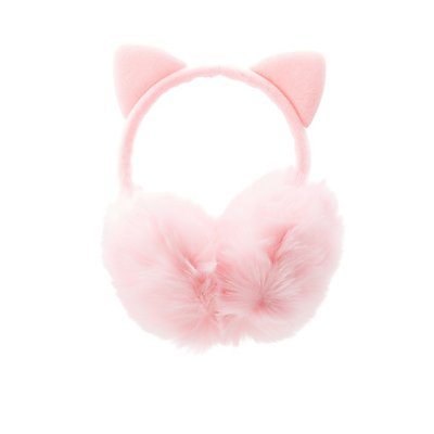 Faux Fur Cat Ear Muffs