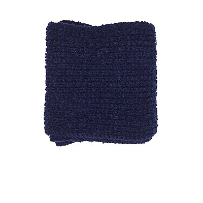 Boucle Knit Infinity Scarf