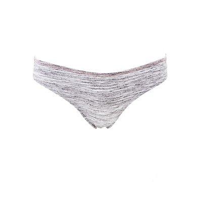 Lace-Back Thong Panties