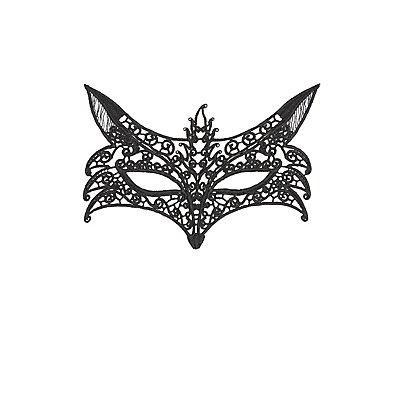 Crochet Fox Face Mask