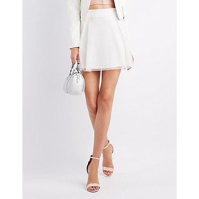 Full Mesh A-Line Skirt