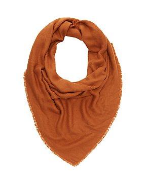 Sweater Knit Blanket Scarf