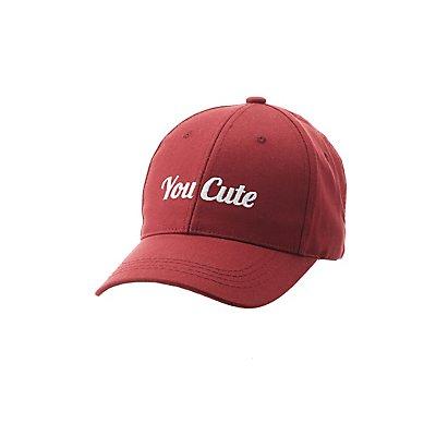 You Cute Baseball Hat