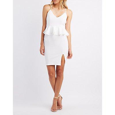 Peplum Bodycon Dress
