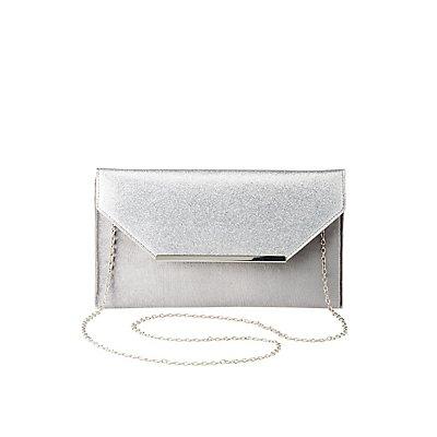 Glitter & Velvet Convertible Crossbody Bag