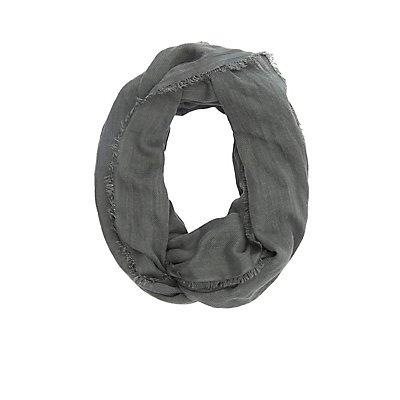 Herringbone Infinity Scarf