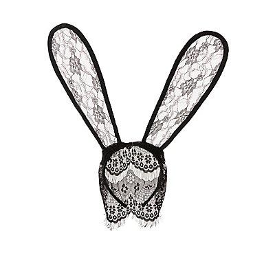 Lace Bunny Ear Headband
