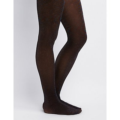 Shimmer Knit Tights
