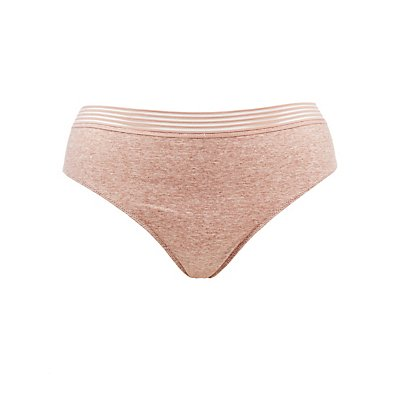 Plus Size Lace-Back Caged Hipster Panties